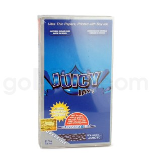 Juicy Jay's 1 1/4'' Rolling Paper-Blueberry Hill 32/pk 24ct