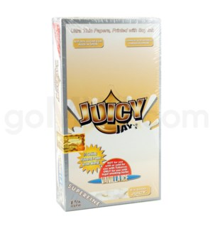 Juicy Jay's Superfine 1 1/4'' Paper-Vanilla Ice 32/pk 24ct/bx