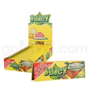 "Juicy Jay's 1 1/4"" Rolling Paper-Pineapple 32/pk 24ct/bx"