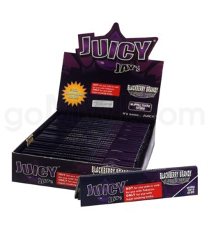 Juicy Jay's KS Rolling Papers-Blackberry Brandy 32/pk 24ct/bx