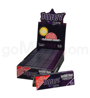 Juicy Jay's 1 1/4'' Rolling Paper-Blackberry Brandy 32/pk 24c
