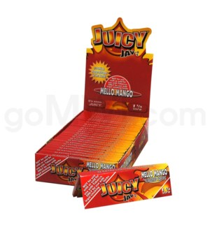 Juicy Jay's 1 1/4'' Rolling Paper -Mellow Mango 32/pk 24ct/bx
