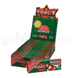 Juicy Jay's 1 1/4'' Rolling Paper -Watermelon 32/pk 24ct/bx