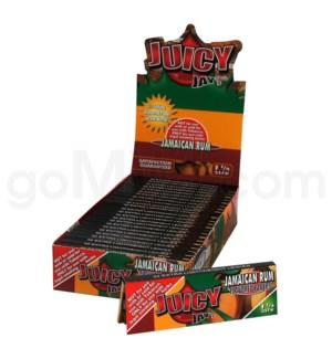 Juicy Jay's 1 1/4'' Rolling Paper -Jamaican Rum 32/pk 24ct/bx