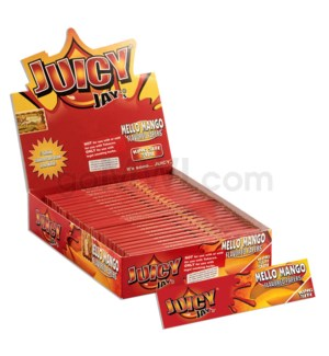 Juicy Jay's KS Rolling Paper - Mello Mango 32/pk 24ct/bx