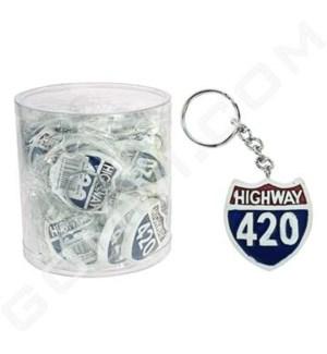 DISC Keychain Polystone 420