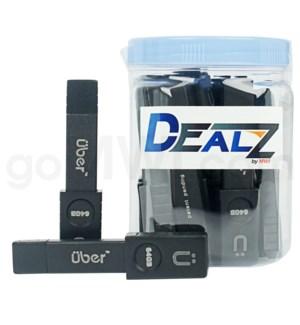 """Kit: MNP52 3.5"""" Uber Metal USB Pipe (20ct)"""