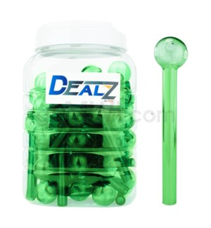 "Kit GOB1C3 Dealz Oil burner 4"" Heavy Wall Green 60ct/JR"