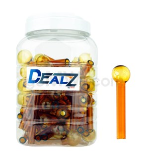 "Kit GOB1C1 Dealz Oil burner 4"" Heavy Wall Amber 60ct"