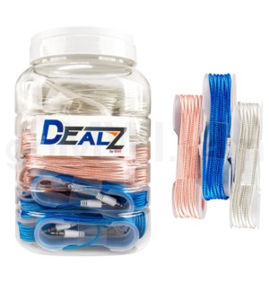 Kit: 3.5mm Auxilary Cable Asst. (30ct)