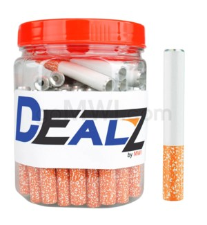 "Kit: MCB02 - Pipe Cigarette bat 2"" Small speckle tip 75ct"