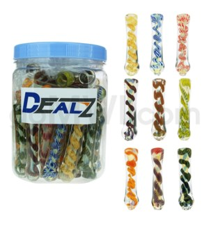 "Kit: CHL004 I/O 3"" Chillum Assorted. 40ct"