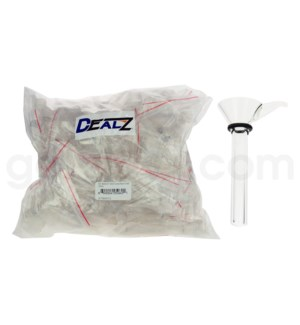 Kit: BW9-01 9mm Cone Bowl Clear BAG (50ct)
