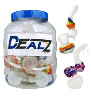 """Kit: IFRB6 I/O 6"""" Bubbler Frosted Mix (15ct)"""