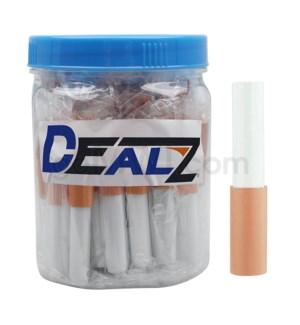 """Kit: MCB04 Cigarette Spring Bat 2"""" Pushout Solid Tip (50ct)"""