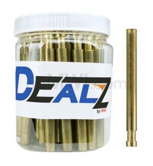 """Kit: MB8-L Pipe Metal 3"""" Brass Spring Pushout Bat (50ct)"""