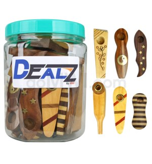 """Kit: WP17 3.5"""" Pipe Wooded Mixed (36ct)"""