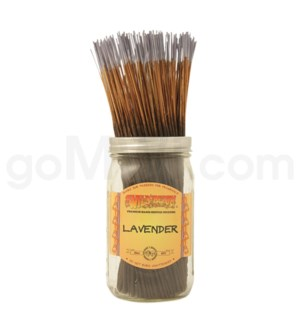 Wildberry Incense Lavender 100/ct