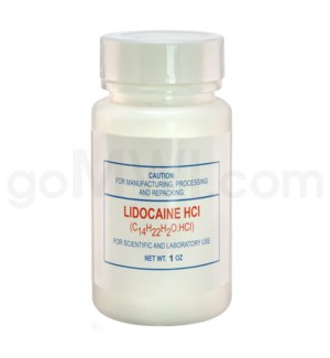 Lidocaine 1oz