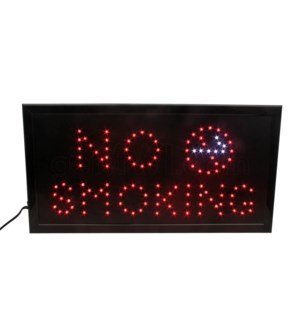 LED/SIGN NO SMOKING