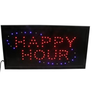 LED/SIGN HAPPY HOUR