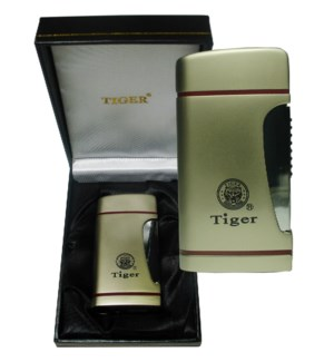 DISC  Tiger Lighter High End Torch w/Gift Box (TJ032/TW098)