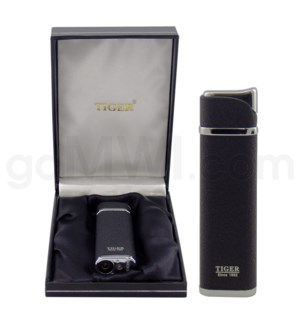 DISC Tiger High End Windproof Torch w/case/TW135/ 60277