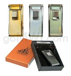 DISC Jobon Lighter High End Triple torch w/Gift Box