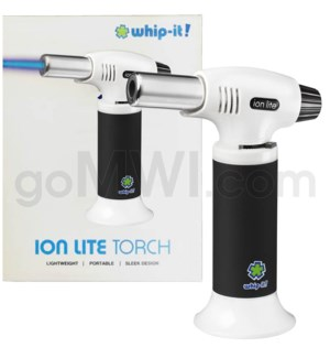 "Whip It- Ion Lite 6"" 7.5 oz Torch Black 24/cs"