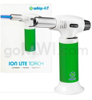 "Whip It-Ion Lite 6"" 7.5 oz Torch Green 24/cs"