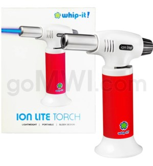 "Whip It-Ion Lite 6"" 7.5oz Torch Red 24/cs"