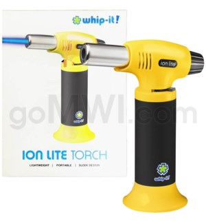 "Whip It-Ion Lite 6"" 7.5 oz Torch Yellow 24/cs"