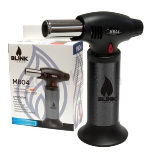 "Blink Table Torch - 6.25"" MB04 w/Adjust. Flame - Black"