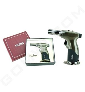DISC Fujima Micro Torch Flame Lighter Gun Metal