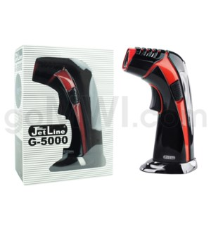 "Jetline G-5000 6""Triple Flame Table Torch Black & Red"