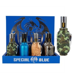Special Blue Grenade Torch Display 12CT/BX