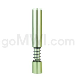 "Pipe Metal 2"" Green Spring Pushout Bat"