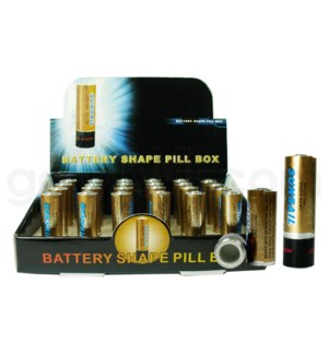 Pill Box AA Battery  24PC/BX