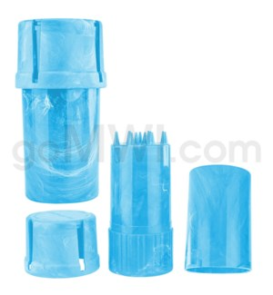Medtainer 20 Marble Blue 12PC/BX
