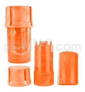 Medtainer 20 Marble Orange 12PC/BX