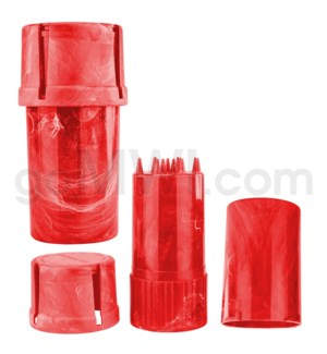 Medtainer 20 Marble Red 12PC/BX