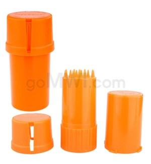 Medtainer 20 Dram Solid Orange 12PC/BX