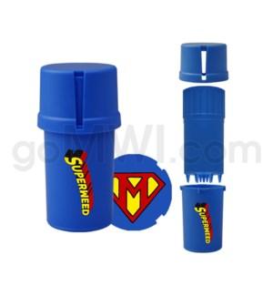 Medtainer 20 Dram Comic - Kryptonian 12PC/BX