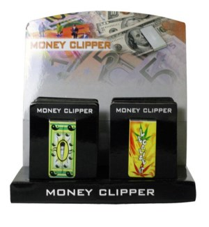 DISC Money Clips Metal Printed  12/20/240