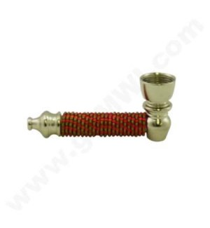 """DISC Metal Hand 3"""" Pipe  w/ Coil"""