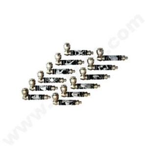INAC Pipe Metal w/ Zodiac Embeded 24 per box