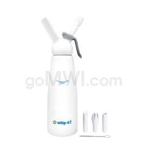 Whip-It Professional 1L- 2PT White 6PC/CS