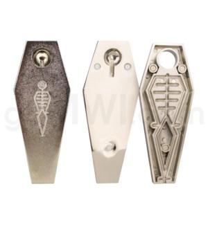 DISC Metal pipe RIP Coffin skeleton pipe