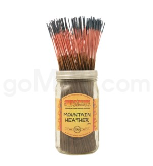 Wildberry Incense Mountain Heather 100/ct