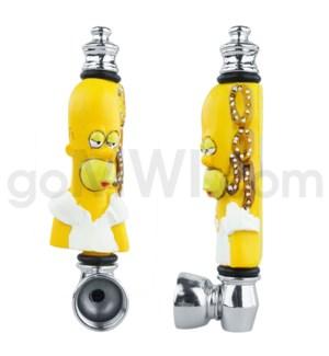 """3.5"""" Metal Polyresin Pipe  - Homer S"""